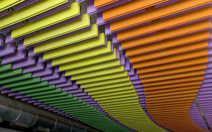 رنگ سقف کاذب