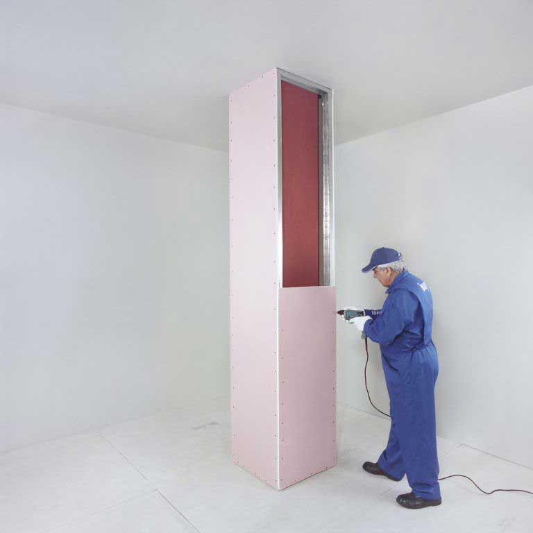 پوشش های محافظ تیر و ستون مقاوم در برابر حریق